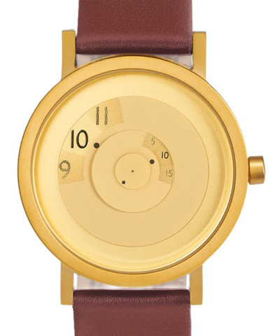 Reveal Watch Brass