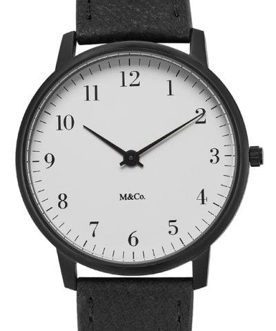 M&Co Bodoni Black 40mm