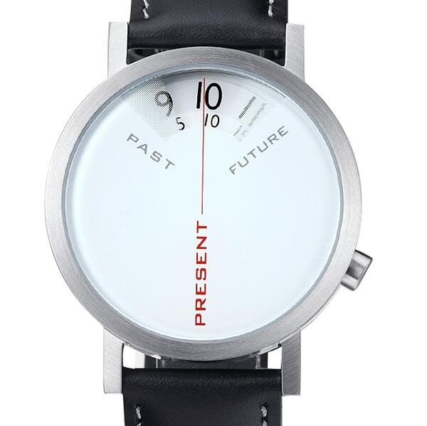 Past Present Future Steel Watch