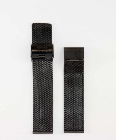 20mm Black Stainless Steel mesh band